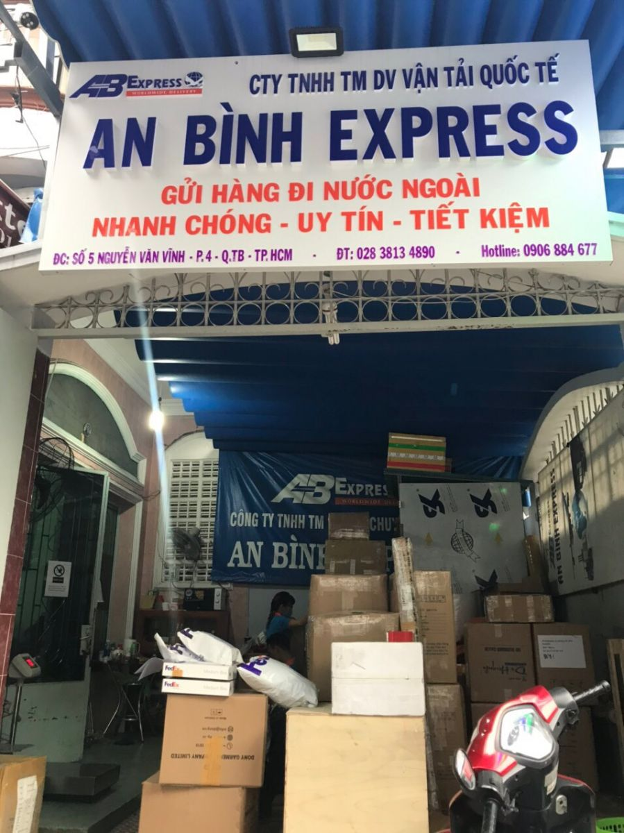 Gửi khẩu trang đi Mỹ tại AB Express