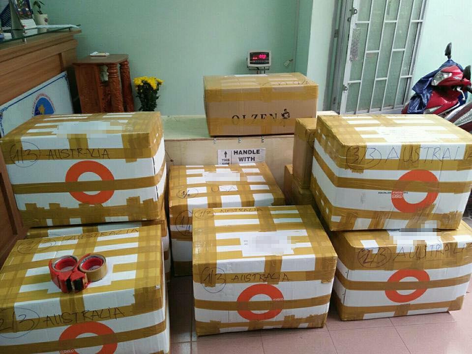 Dịch vụ gửi hàng đi Castries giá rẻ tại TpHCM
