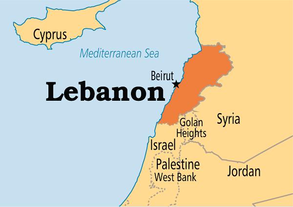 dịch vụ chuyển phát nhanh đi Lebanon