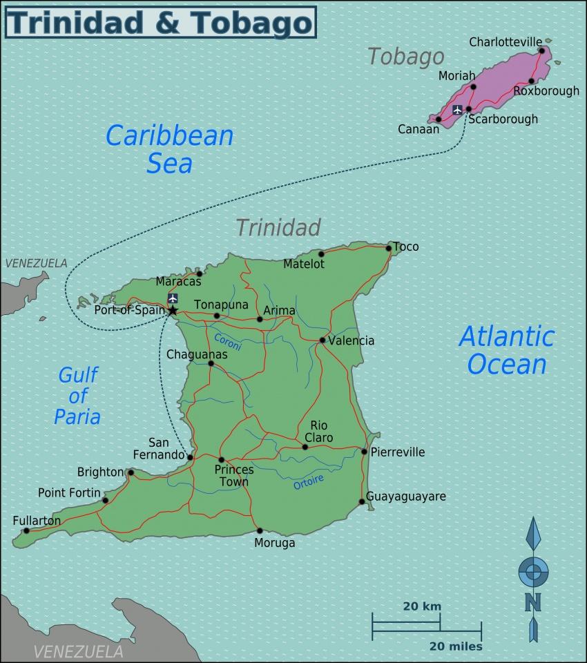 Dịch vụ chuyển phát nhanh đi Trinidad & Tobago giá rẻ