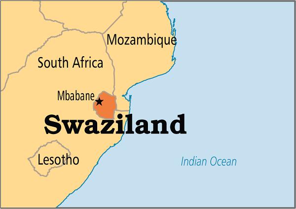 Gửi hàng đi Swaziland giá rẻ